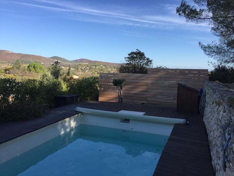aménagement terrasse piscine Alès