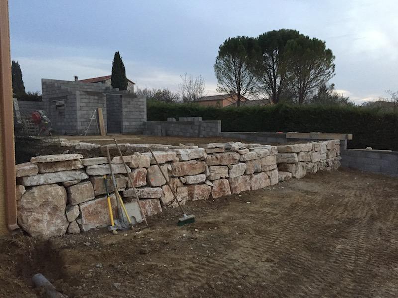 aménagement de jardin St christol les Alès